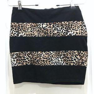 LAST CHANCE🔸 Material Girl | Animal Print Miniskirt
